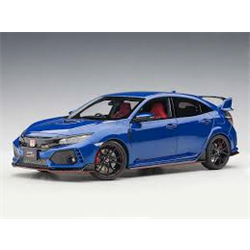 Honda Civic Type R (FK8), Blue Metallic 1:18 AUTOart composite diecast