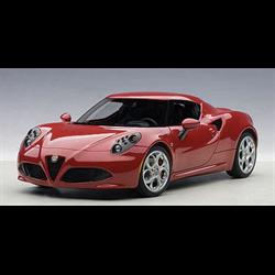 ALFA ROMEO 4C (Alfa Red ) (COMPOSITE)  AUTOart 1:18 Diecast