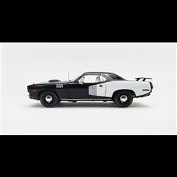 Plymouth Hemi Cuda 1971 black Acme 1:18 Diecast