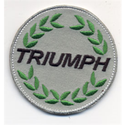 "Embroidered Patch ""Triumph"" round cloth badge logo"
