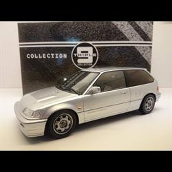 Honda Civic EF9 SiR vtech 1990 silver, Triple9 1:18 Diecast Resin