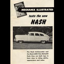 "1949 NASH ""Mechanix Illustrated"" Promotional Brochure"