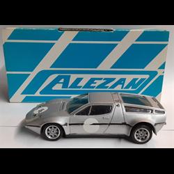 Maserati Bora 1973 silver 1:43 Alezan resin model