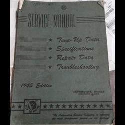 1945 Automotive Digest Service Manual