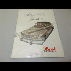 1946 NASH Full Line Sales Catalog-Brochure