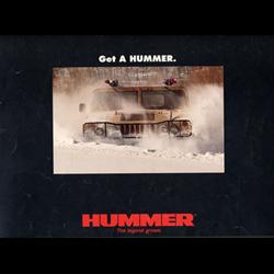 1993 HUMMER H1 Sales Catalog-Brochure