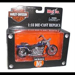 Harley Davidson 1999 FXSTS Springer Softail Maisto 1:18 Diecast