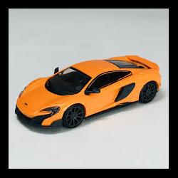 McLaren 675LT Coupe orange Minichamps 1:87 Diecast