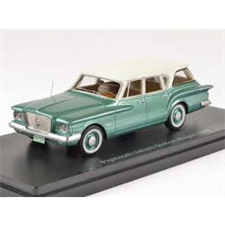 Plymouth Valiant Wagon 1960 green NEO 1:43 Resin model