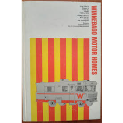 Chilton's Winnebago Motor Homes repair, Tune-Up Guide 1968-1974 ex-library