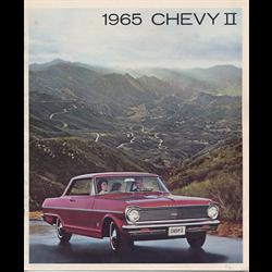 1965 CHEVROLET Chevy II and Nova Sales Catalog-Brochure