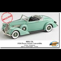 Pierce-Arrow Convertible 1936 Greentone - Brooklin 1:43 Diecast