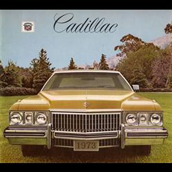 1973 CADILLAC Full-line Sales Catalog-Brochure