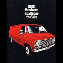 1971 GMC Vanduras Sales Catalog-Brochure