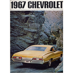1967 CHEVROLET Full-line Sales Catalog-Brochure