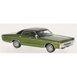 Dodge Polara Sedan 1972 green  - NEO 1:43 Resin Diecast scale model