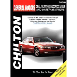 GM DeVille/Fleetwood/Eldrdo/Svlle 1990-98 Chilton's Repair Manual