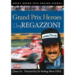 Clay Regazzoni - Grand Prix Heroes NTSC DVD