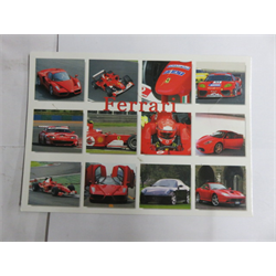 Post Card  Ferrari