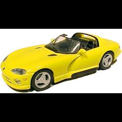 Dodge Viper 1993 Conv yellow - Minichamps 1:43 Diecast
