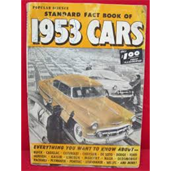 Standard Fact Book of 1953 Cars