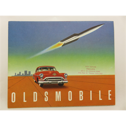 1951 OLDSMOBILE Full-line Sales Catalog-Brochure