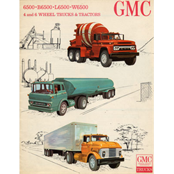 1964 GMC 4 & 6 Wheel Trucks Sales Catalog-Brochure