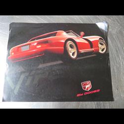 DODGE Viper Sales Catalog-Brochure