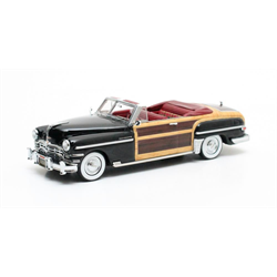 Chrysler Town & Country Conv.1949 black - Matrix 1:43 Diecast Resin model