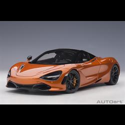 McLaren 720S Azores, Metallic Orange AUTOart 1:18 Composite
