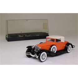 Cord Coupe orange, black Solido 1:43 Diecast
