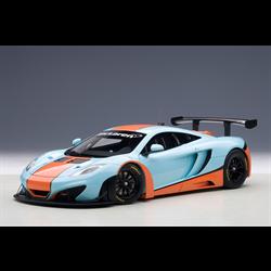 MCLAREN 12C GT3 blue & orange - AUTOart 1:18 Diecast