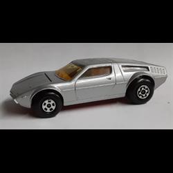 Maserati Bora 1976 silver Matchbox 1:43 Diecast NO BOX