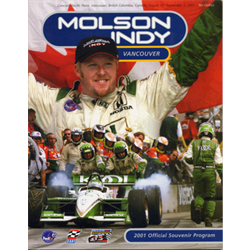 2001 Vancouver Indy Official Racing Program