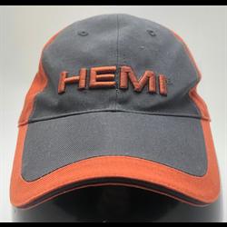 Dodge HEMI hat grey/orange cap