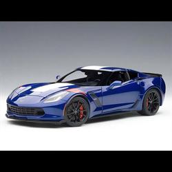 Chevrolet Corvette Grand Sport, Admiral Blue , Composite - AUTOart 1:18 Diecast