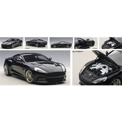 ASTON MARTIN VANQUISH onyx black  - AUTOart 1:18 Composite Model