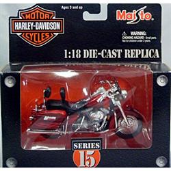Harley Davidson 2001 FLHRSEI CVO Custom Maisto 1:18 Diecast