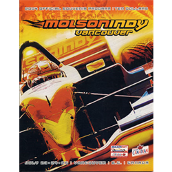 2004 Vancouver Indy Official Racing Program