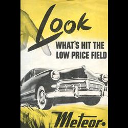 1949 Meteor Full-line Sales Catalog-Brochure