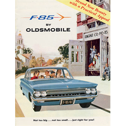 1961 OLDSMOBILE F-85 Sales Catalog-Brochure