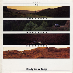 1988 JEEP Full-line Sales Catalog-Brochure