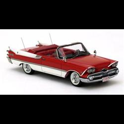 Dodge Custom Royal Lancer Convertible red/white 1959 - NEO 1:43 Resin Diecast