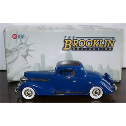 Buick 96-S Coupe 1934 - Brooklin 1:43 Diecast