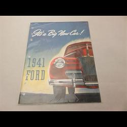 1941 FORD Sales Catalog-Brochure