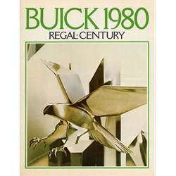 1980 BUICK Century & Regal Sales Catalog-Brochure