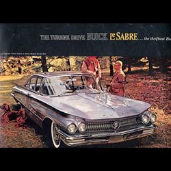 1960 BUICK LeSabre Sales Catalog-Brochure
