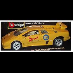Lamborghini Diablo 1990 Yellow 1 18 Diecast By Bburago Eautomobilia