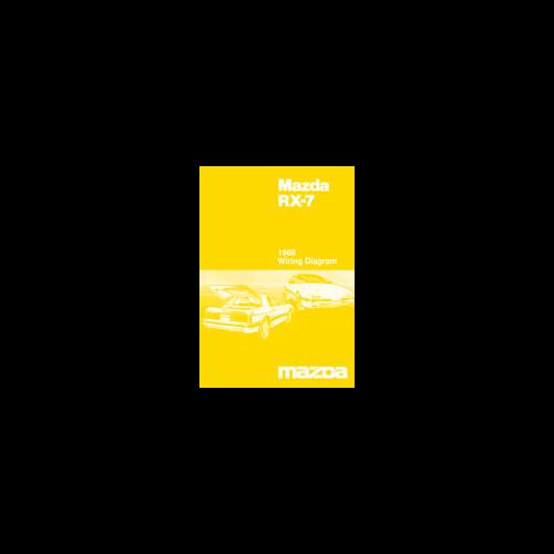 1988 Mazda RX7 Wiring Diagram Manual - eAutomobilia
